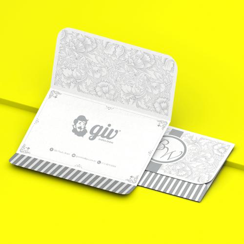 Convite de Casamento Clássico 03