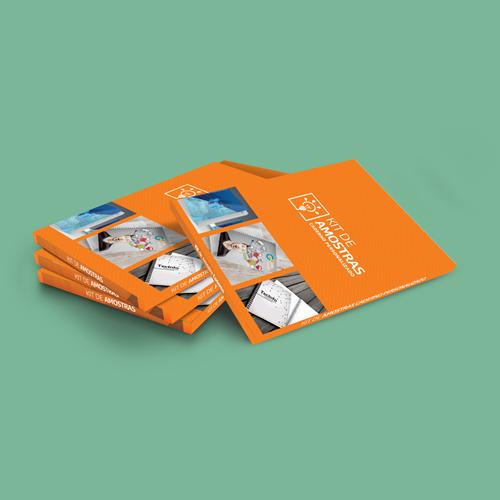 Kit de Amostra Caderno Personalizado