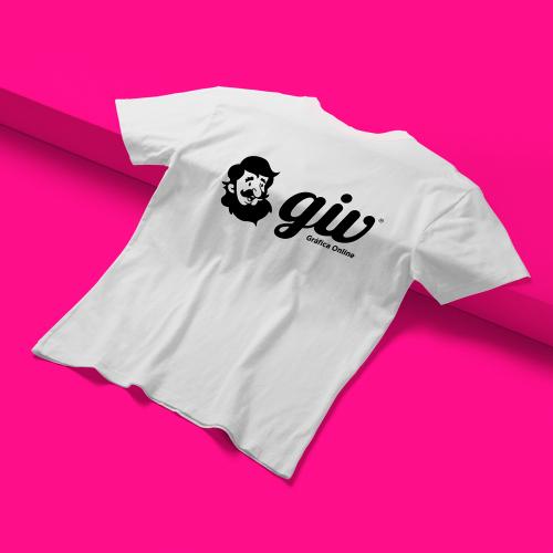 Camiseta T-Shirt em Algodão