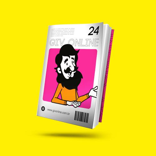 Revista em Couché Brilho 90g/m²
