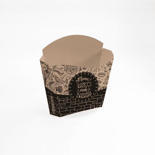 Embalagem para Batata Frita Padrão