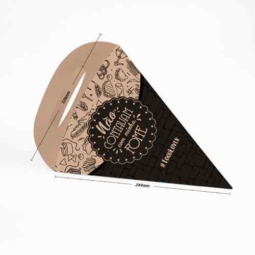 Cone para Batatas e Porções Padrão