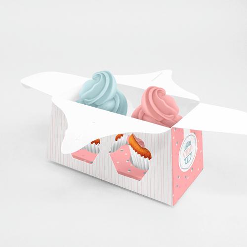 Embalagem para Cupcake Padrão