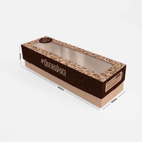 Embalagem para Catarina e Bolo de Tira Padrão