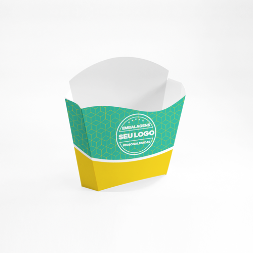 Embalagem para Batata Frita Personalizada