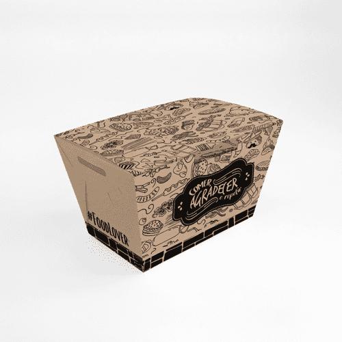 Embalagem para Batata Frita, Assada e Porções Personalizada