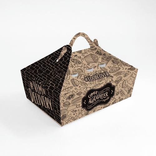 Box para Frituras Personalizado