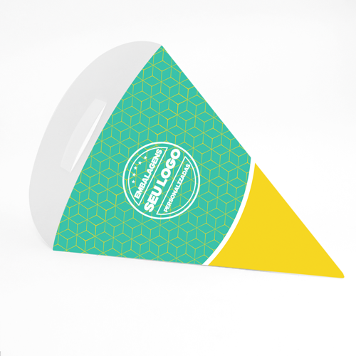 Cone para Batatas e Porções Personalizado