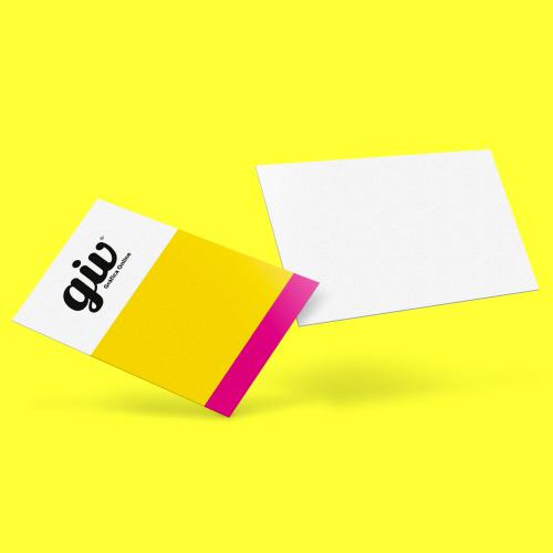 Cartão de Visita em Couché Brilho