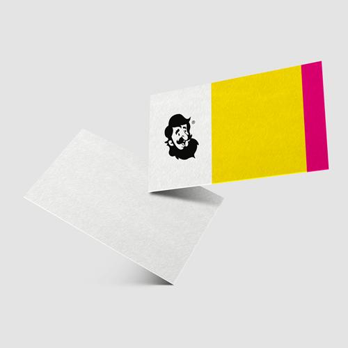 Cartão de Visita em Papel Premium