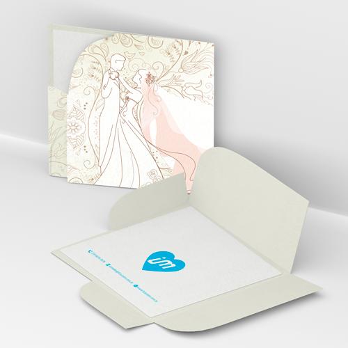 Convite de Casamento Moderno 04