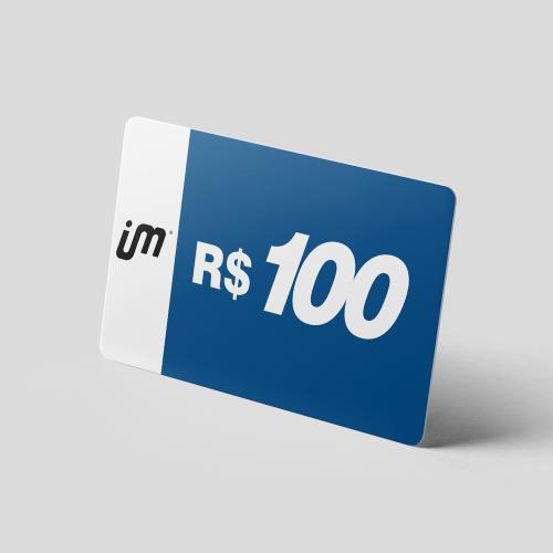 Crédito Pré-Pago de R$ 100,00