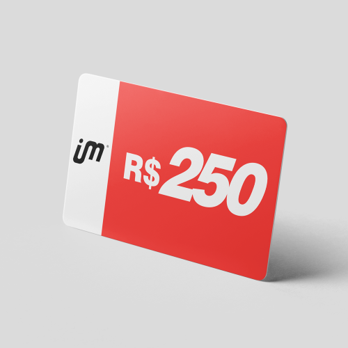 Crédito Pré-Pago de R$ 250,00