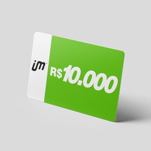 Crédito Pré-Pago de R$ 10.000,00