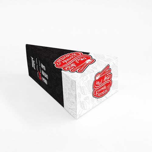 Embalagem para Temaki Padrão