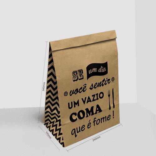 Saco Kraft Delivery