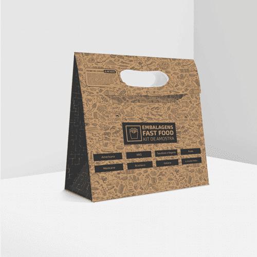 Kit de Amostra Embalagens Fast Food