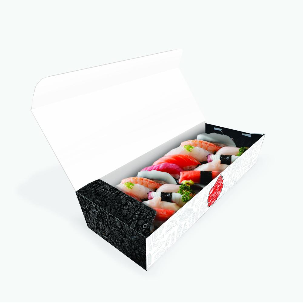 Embalagem para Sushi, Sashimi e Combinados Padrão