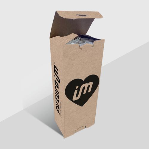 Canudos Ecológicos com Embalagem Personalizada