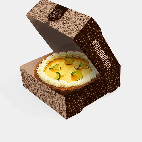 Embalagem para Tortas Personalizada
