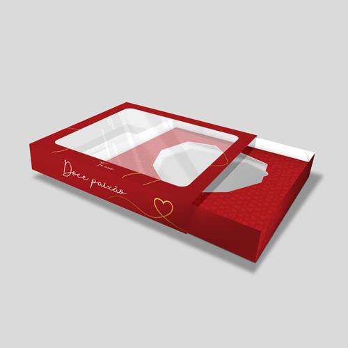 Embalagem para Coração Lapidado
