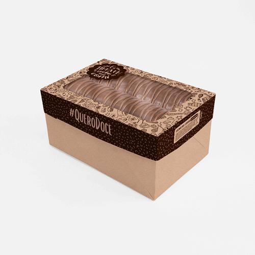 Embalagem para Rocambole Personalizada